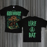 King Parrot - Like A Rat T-Shirts - (grey , black)