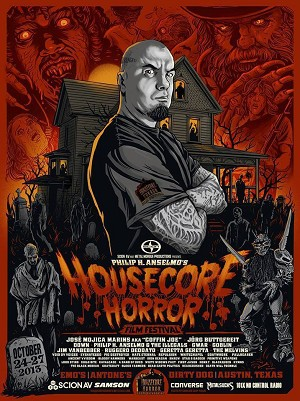 Philip H. Anselmo & the Illegals Limited Edition 2013 Horror Fest poster